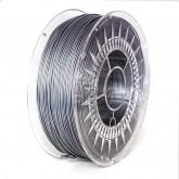 PLA 1,75 mm, srebrny, 1 kg