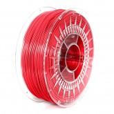 PLA 1,75mm czerwony, 1kg na szpuli