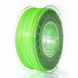 PLA 1,75 mm, zielony jasny transparentny, 1 kg