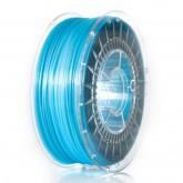 PLA 1,75 mm, niebieski transparentny, 1 kg