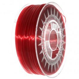 Devil Design PET-G 1,75 mm, rubinowy transparentny, 1 kg