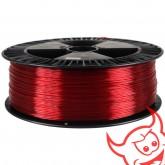 Devil Design PET-G 1,75 mm, rubinowy transparentny, 2 kg